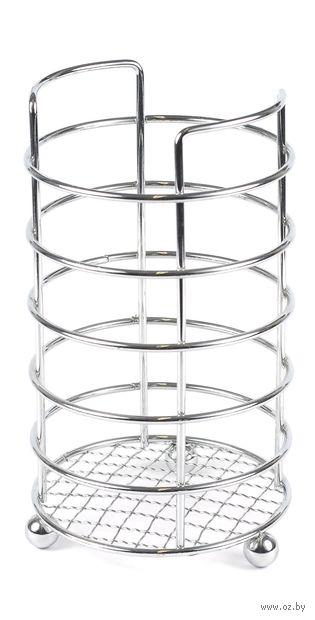 Подставка для столовых приборов металлическая (120х175 мм) — фото, картинка