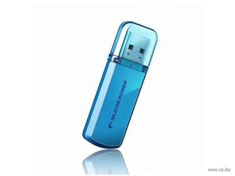 USB Flash Drive 64Gb Silicon Power Helios 101 (Blue)