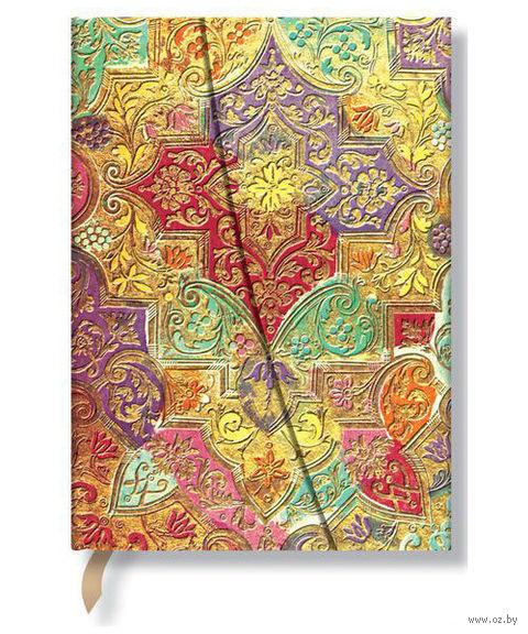 """Записная книжка Paperblanks """"Полевые цветы Баварии"""" в линейку (формат: 180*230 мм, ультра)"""