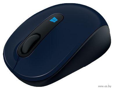 Беспроводная мышь Microsoft Mobile Mouse Sculpt blue (43U-00014)