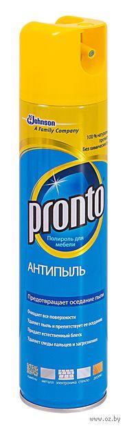"""Полироль для мебели Pronto """"Антипыль"""" (250 мл)"""
