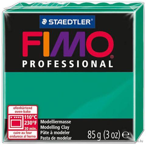"""Глина полимерная """"FIMO Professional"""" (зеленый; 85 г)"""