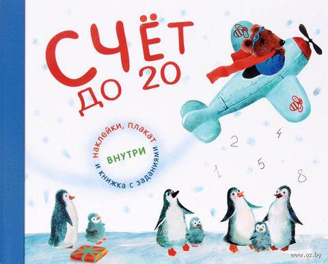 Счет до 20 с увлекательными заданиями, плакатом и наклейками. П. Михайлов