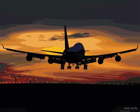 """Картина по номерам """"Полет в закат"""" (400х500 мм) — фото, картинка"""