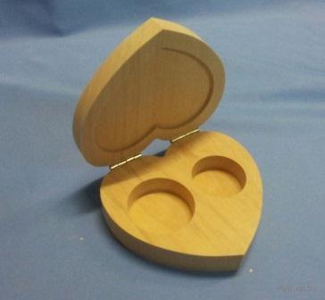 Шкатулка для обручальных колец (арт. МВ00408) — фото, картинка