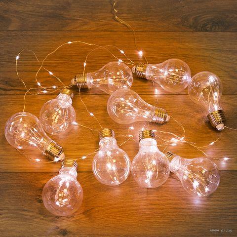 "Гирлянда ""Ретро-лампы"" (100 лампочек; арт. 303-076) — фото, картинка"