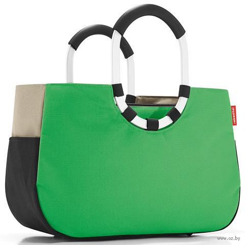 """Сумка """"Loopshopper"""" (M, patchwork green)"""