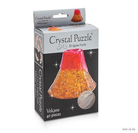 "Пазл-головоломка ""Crystal Puzzle. Вулкан"" (40 элементов) — фото, картинка"
