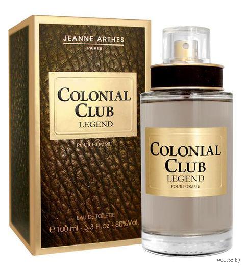 "Туалетная вода для мужчин ""Colonial Club. Legend"" (100 мл) — фото, картинка"