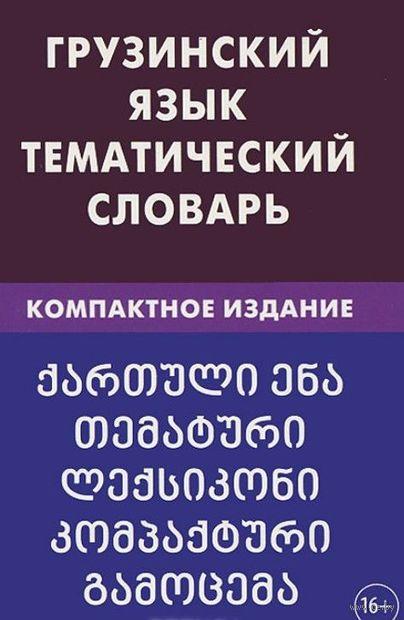 Грузинский язык. Тематический словарь. Компактное издание. А. Качурина