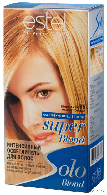 "Осветлитель ""Estel Solo Super Blond"""
