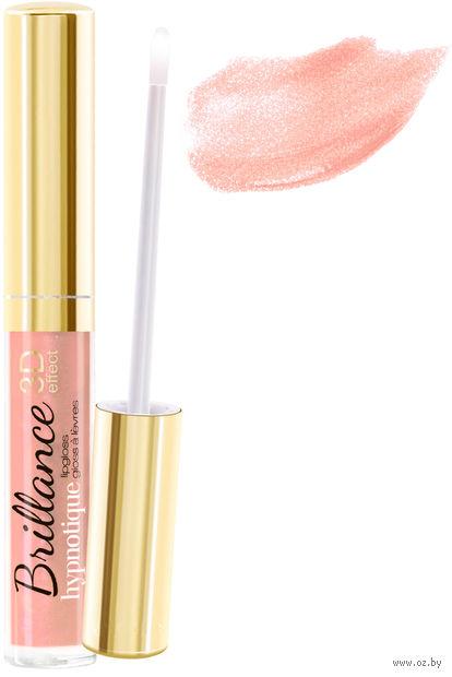 """Блеск для губ """"Brillance hypnotique 3D"""" (тон: 36, розовый беж) — фото, картинка"""
