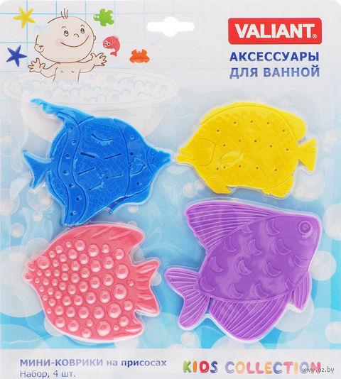 """Набор игрушек для купания """"Рыбки"""" (4 шт.) — фото, картинка"""