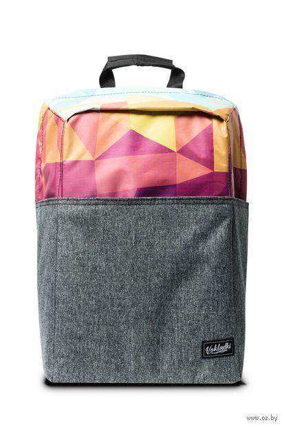 """Рюкзак """"Пазл"""" (20 л; розовый) — фото, картинка"""