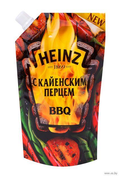 "Кетчуп ""Heinz. BBQ с кайенским перцем"" (350 г) — фото, картинка"