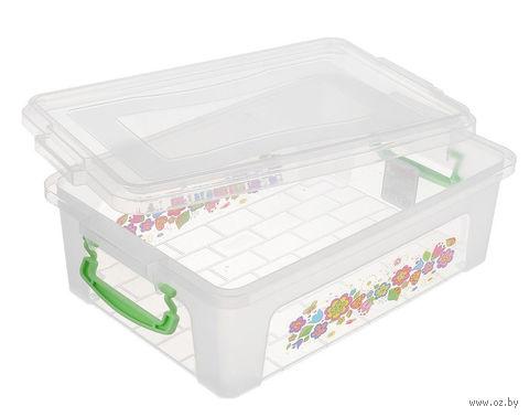 Ящик для хранения с крышкой (2 л)