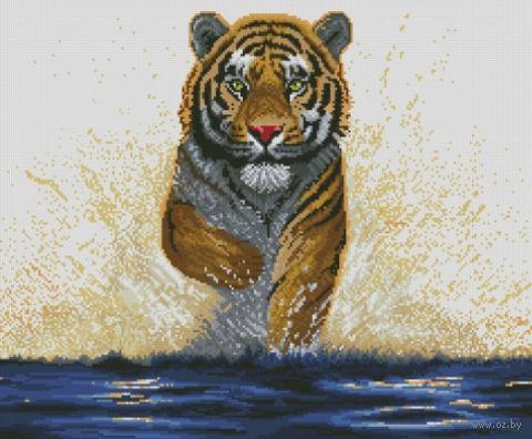 "Алмазная вышивка-мозаика ""Гордый тигр"""