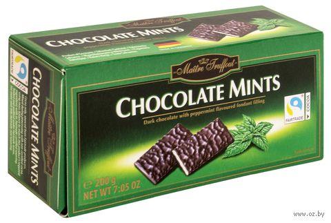 "Шоколад темный ""Chocolate Mints"" (200 г) — фото, картинка"