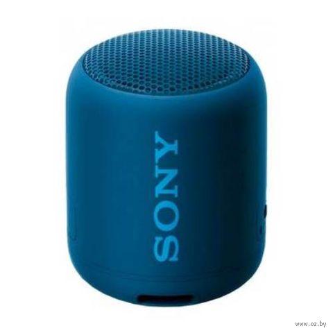 Беспроводная колонка Sony SRS-XB12 (синий) — фото, картинка