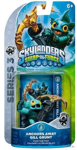 "Фигурка ""Skylanders Swap Force. Anchors Away Gill Grunt"" — фото, картинка"