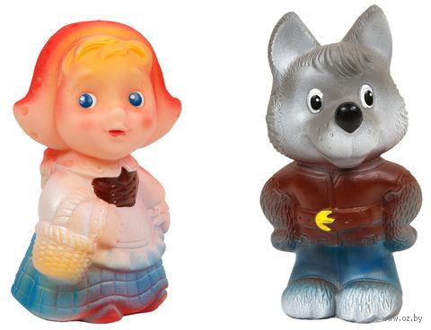 """Набор игрушек для купания """"Красная Шапочка и волк"""" (2 шт) — фото, картинка"""