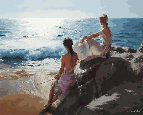 "Картина по номерам ""У самого синего моря"" (400х500 мм) — фото, картинка"