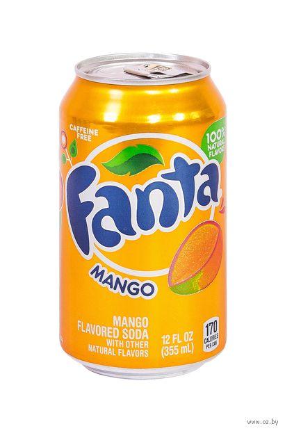 """Напиток газированный """"Fanta. Манго"""" (355 мл) — фото, картинка"""
