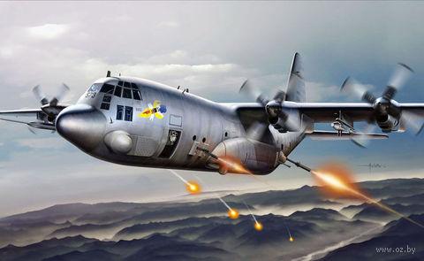 "Тяжеловооруженный самолет ""AC-130H Spectre"" (масштаб: 1/72) — фото, картинка"