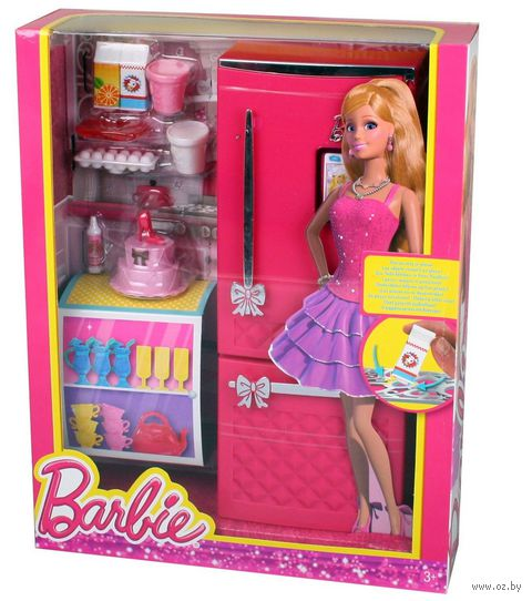 "Набор мебели для кукол ""Барби. Холодильник"""