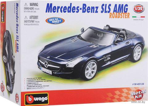 """Модель машины """"Bburago. Mercedes-Benz SLS AMG Roadste"""" (масштаб: 1/32)"""
