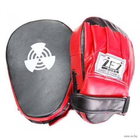 Лапы боксёрские вогнутые LAPA-I-NK (пара) — фото, картинка