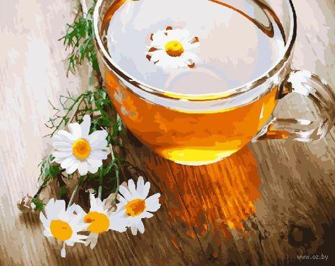 "Картина по номерам ""Ромашковый чай"" (400х500 мм) — фото, картинка"