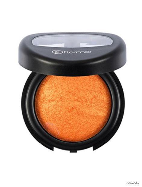 "Тени для век ""Terracotta Mono Eye Shadow"" (тон: 10, orange-pearlescent) — фото, картинка"