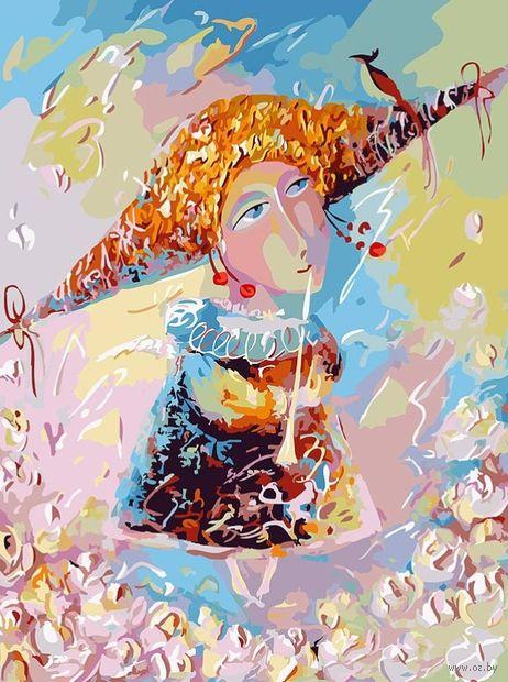 "Картина по номерам ""Переливчатый трель"" (400х500 мм) — фото, картинка"