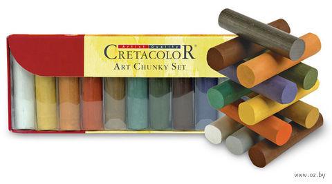 """Набор цветных углей """"Art Chunky"""" (10 шт)"""