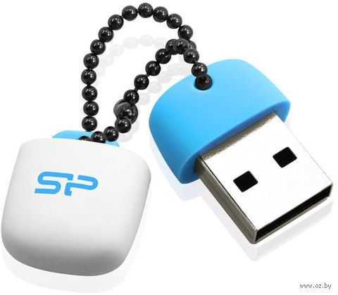 USB Flash Drive 32Gb Silicon Power Touch T07 (Blue)