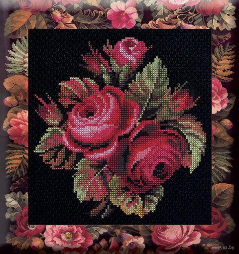 "Вышивка крестом ""Розы"" (250x240 мм) — фото, картинка"