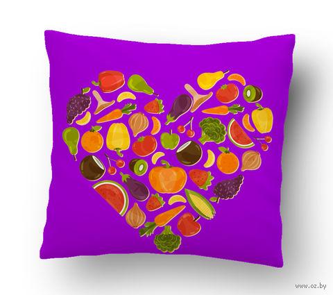 """Подушка маленькая """"Food"""" (art.9)"""