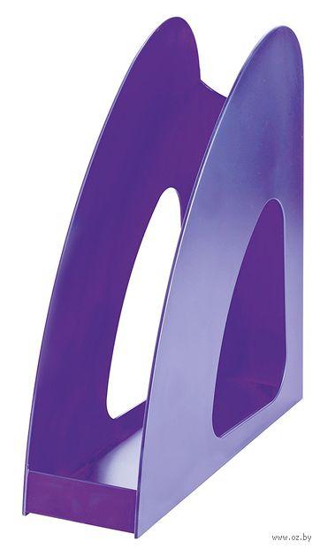 """Лоток для бумаги вертикальный """"Loop"""" (фиолетовый)"""