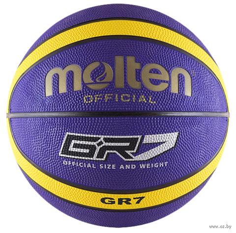 Мяч баскетбольный Molten BGR7-VY №7 — фото, картинка