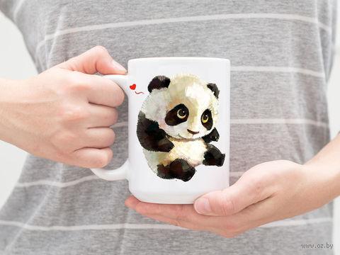 """Кружка """"Панда"""" (арт. 123) — фото, картинка"""