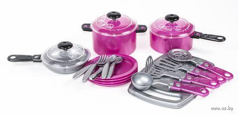 Набор детской посуды (арт. 080A) — фото, картинка