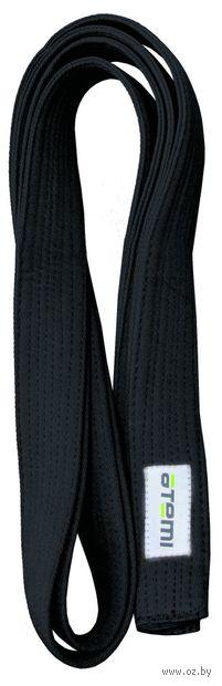 Пояс для единоборств (280 см; чёрный) — фото, картинка