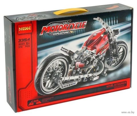 "Конструктор ""Мотоцикл"" (378 деталей) — фото, картинка"