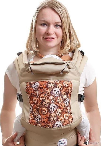 """Эргономичный рюкзак """"Собачки"""" — фото, картинка"""