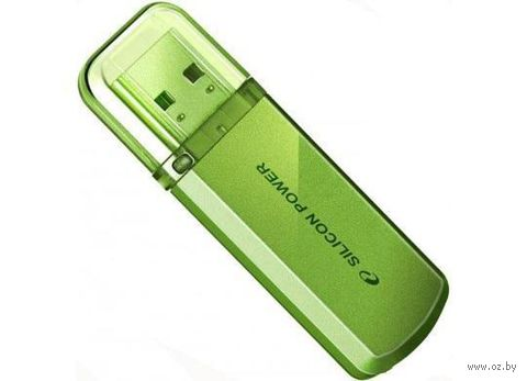 USB Flash Drive 32Gb Silicon Power Helios 101 (Green)