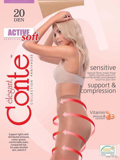 "Колготки женские корректирующие ""Conte. Active Soft 20"" — фото, картинка"