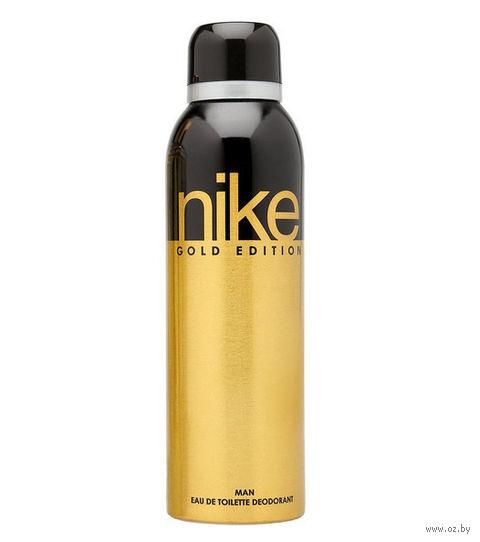 "Дезодорант парфюмерный для мужчин ""Nike. Gold Edition"" (200 мл)"