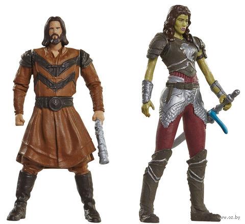 """Набор фигурок """"Warcraft. Гарона и Лотар"""" (7 см) — фото, картинка"""