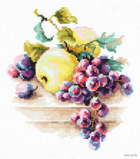 """Вышивка крестом """"Виноград и яблоки"""""""